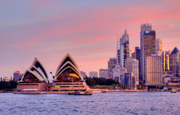 Los Angeles to Sydney, Australia for only $541 roundtrip