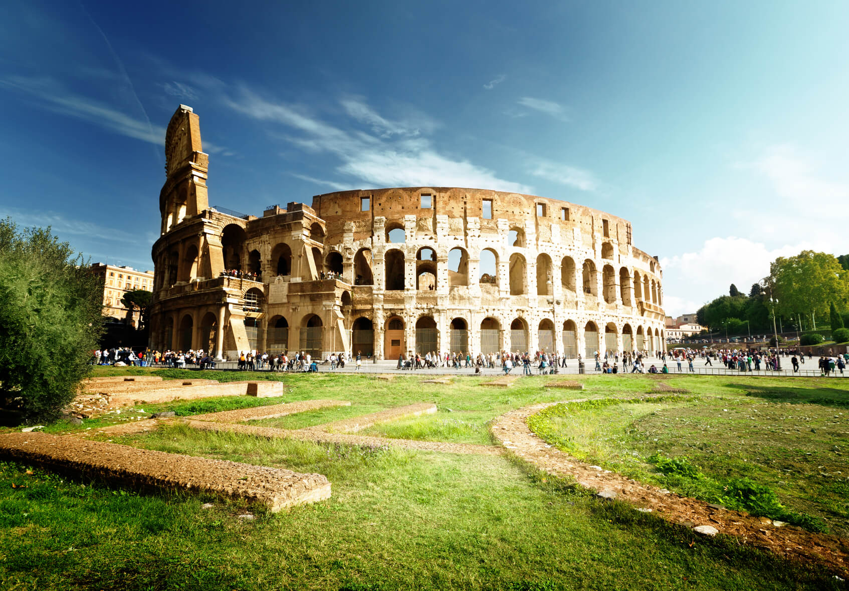 New York to Rome, Italy for only $384 roundtrip