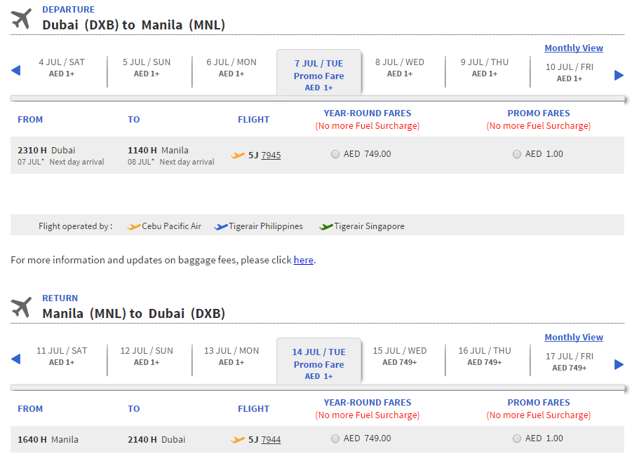 cheapest airline tickets to manila philippines