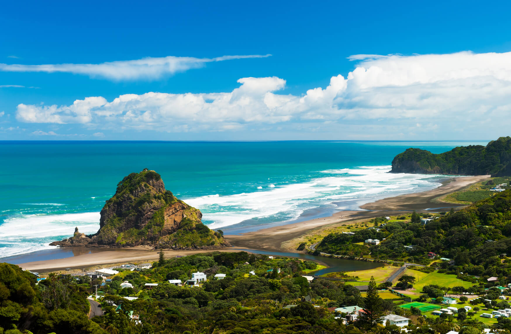 Zurich, Switzerland to Auckland, New Zealand for only €661 roundtrip