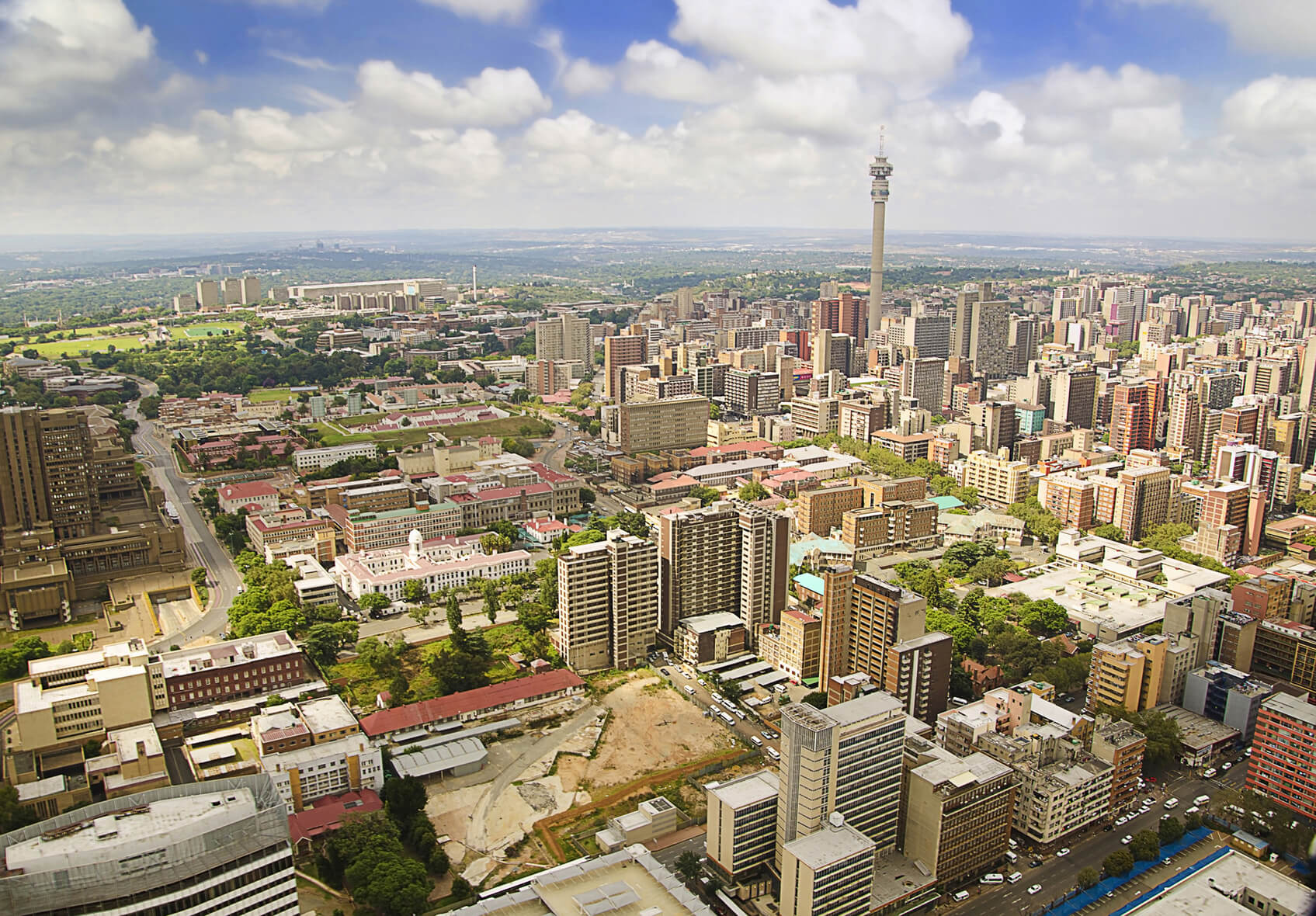 Swiss cities to Johannesburg, South Africa from only €390 roundtrip
