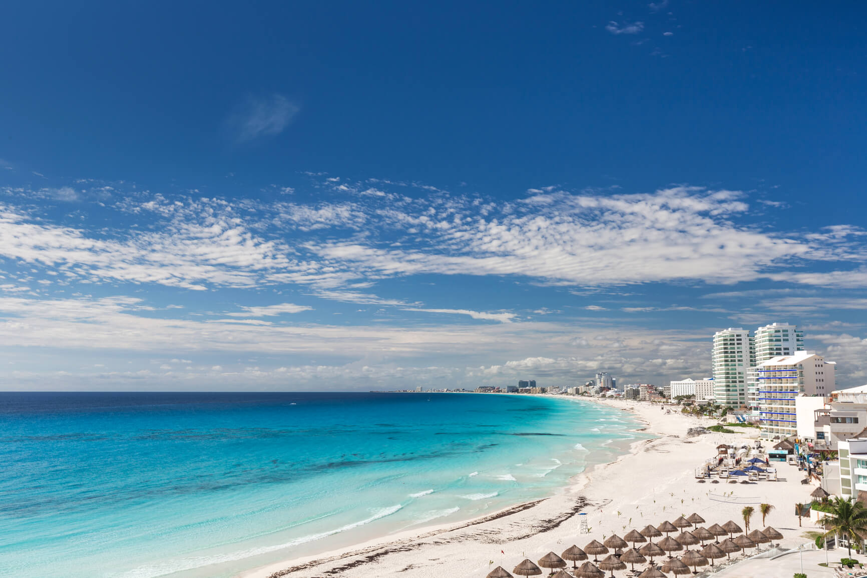 Non-stop from Houston, Texas to Cancun, Mexico for only $160 roundtrip