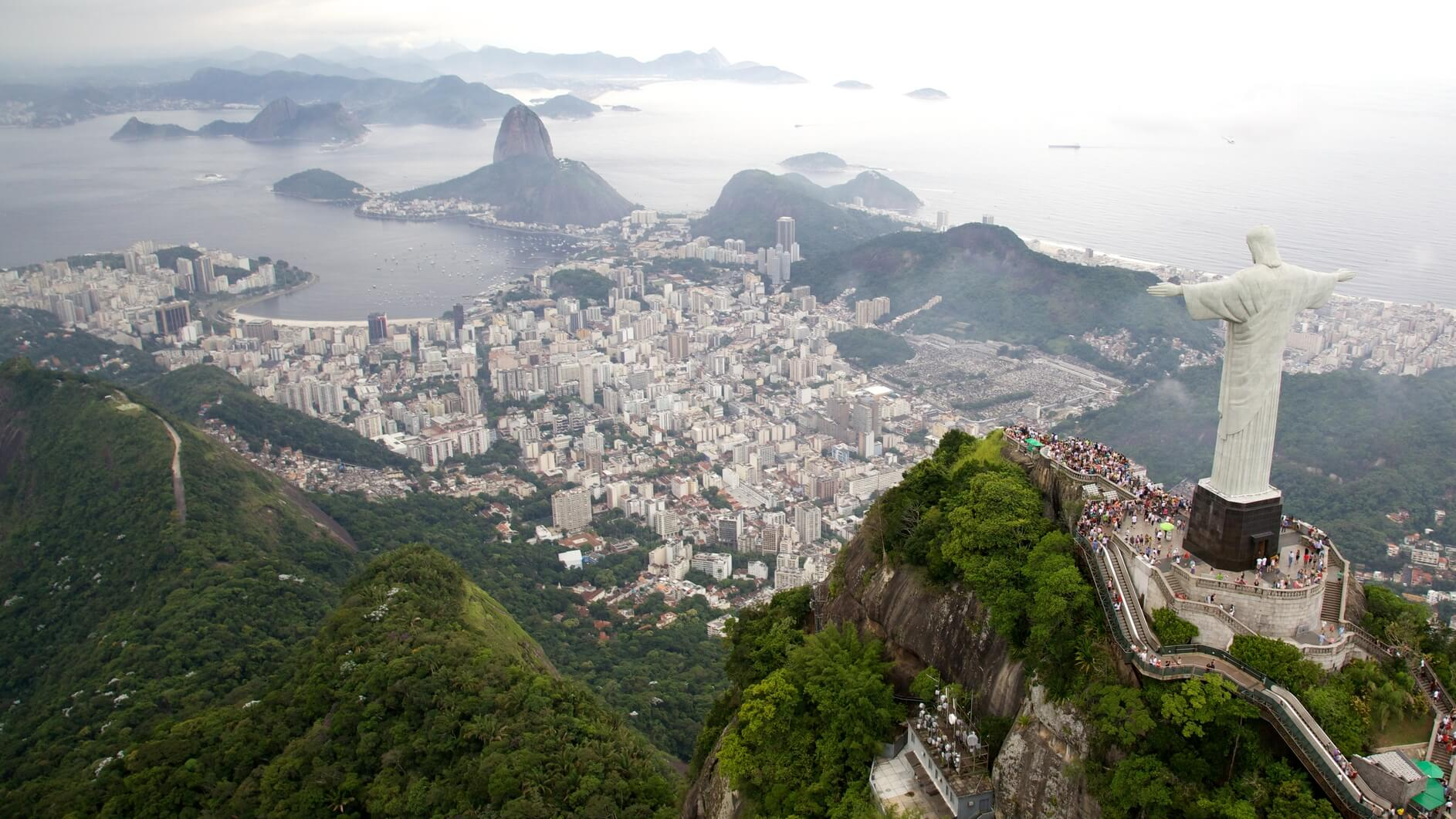 New York to Rio De Janeiro, Brazil for only $445 roundtrip (Sep-Dec dates)