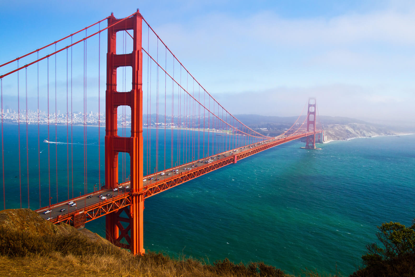 Vienna, Austria to San Francisco, USA for only €314 roundtrip (Oct-Mar dates)