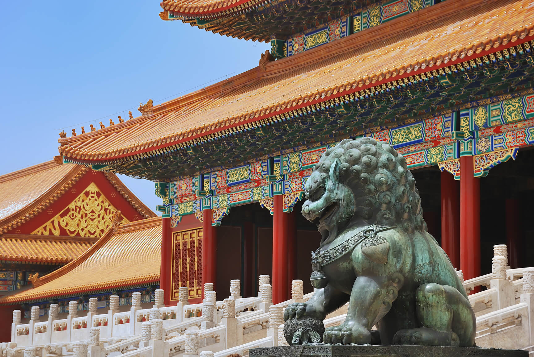 New York to Beijing, China for only $454 roundtrip