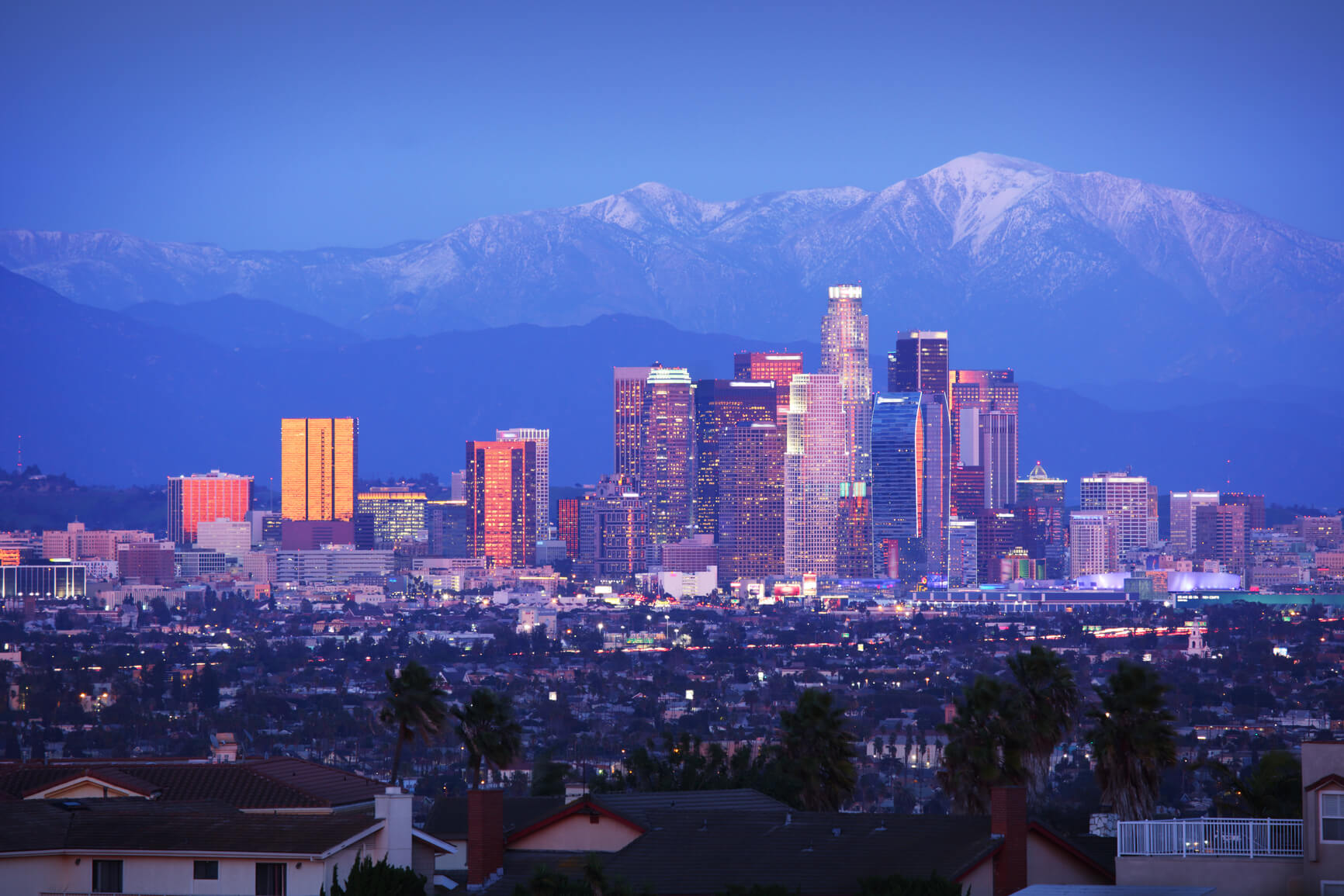Non-stop from Dublin, Ireland to Los Angeles, USA for only €341 roundtrip