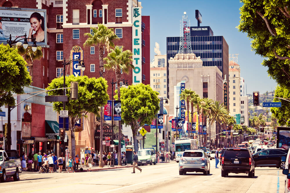 Dublin, Ireland to Los Angeles, USA for only €302 roundtrip