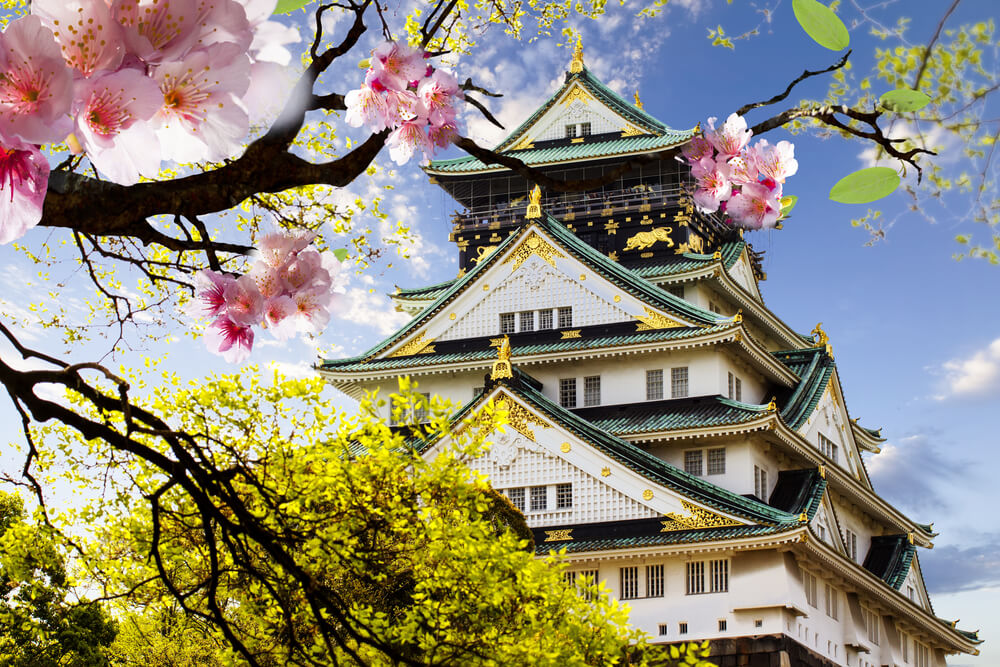 Miami to Osaka, Japan for only $522 roundtrip (Sep-Apr dates)