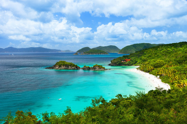 Amsterdam, Netherlands to the US Virgin Islands for only €270 roundtrip