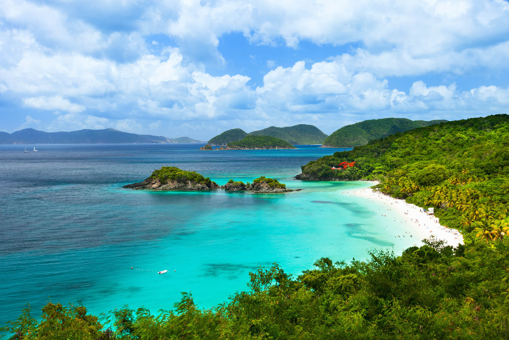 Brussels, Belgium to the US Virgin Islands for only €321 roundtrip