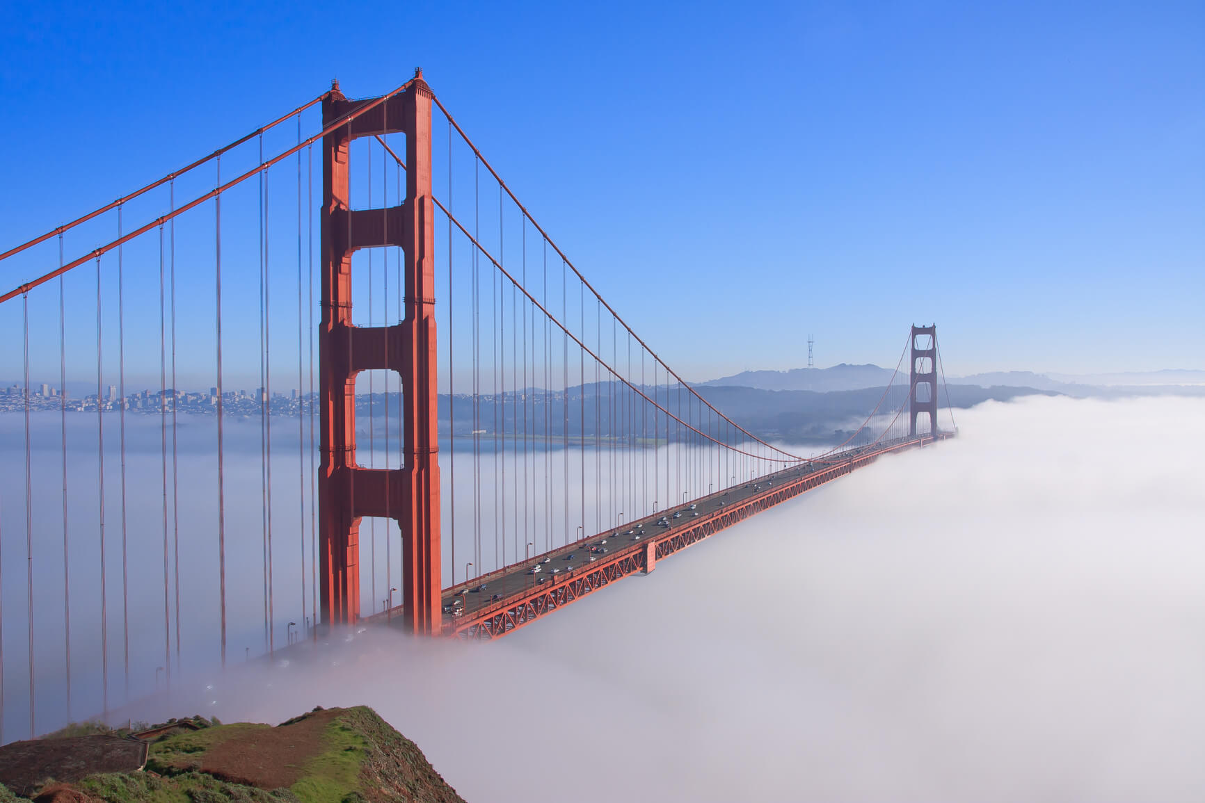 Non-stop from Paris, France to San Francisco, USA for only €283 roundtrip