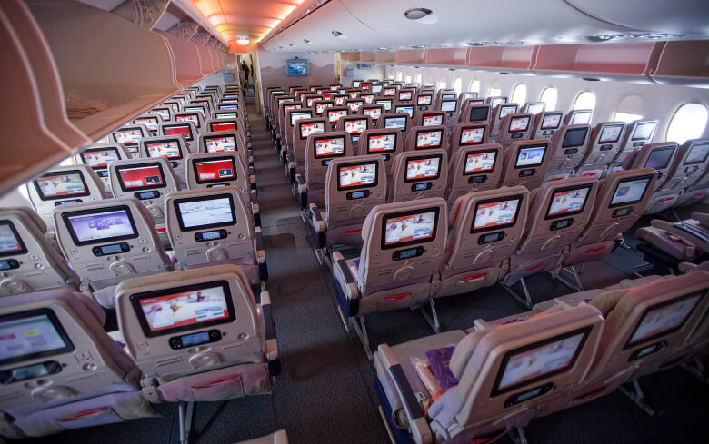 New emirates a380 to have 615 seats first class scrapped for Airbus a380 emirates interior