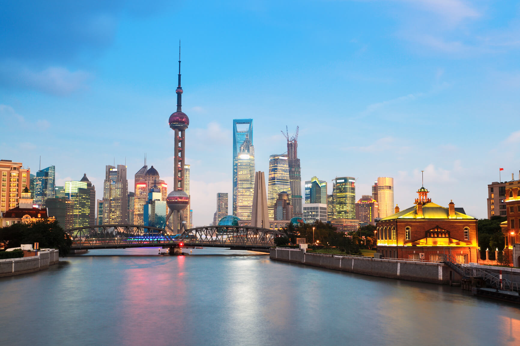 Berlin, Germany to Shanghai, China for only €376 roundtrip