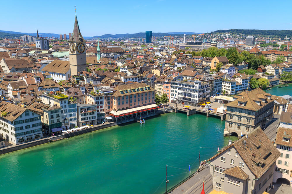 Miami to Zurich, Switzerland for only $322 roundtrip