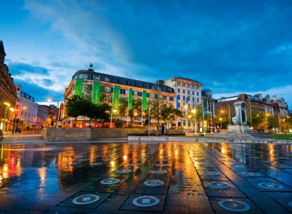 HOT!! Non-stop from Las Vegas to Manchester, UK for only $89 one-way