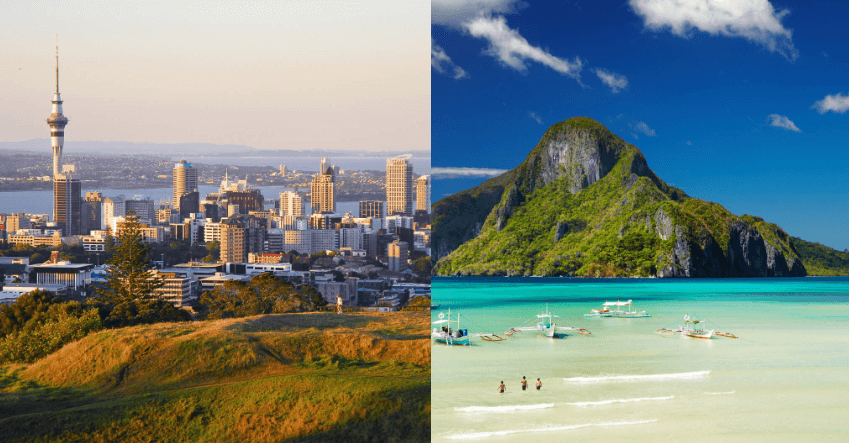 HOT!! 2 IN 1 TRIP: New York to New Zealand & the Philippines for only $787 roundtrip