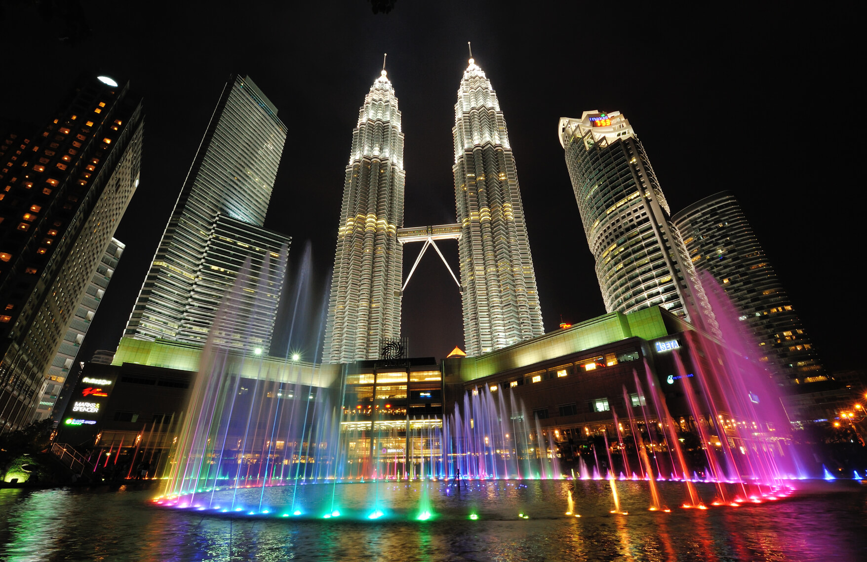 Bangalore, India to Kuala Lumpur, Malaysia for only $202 USD roundtrip