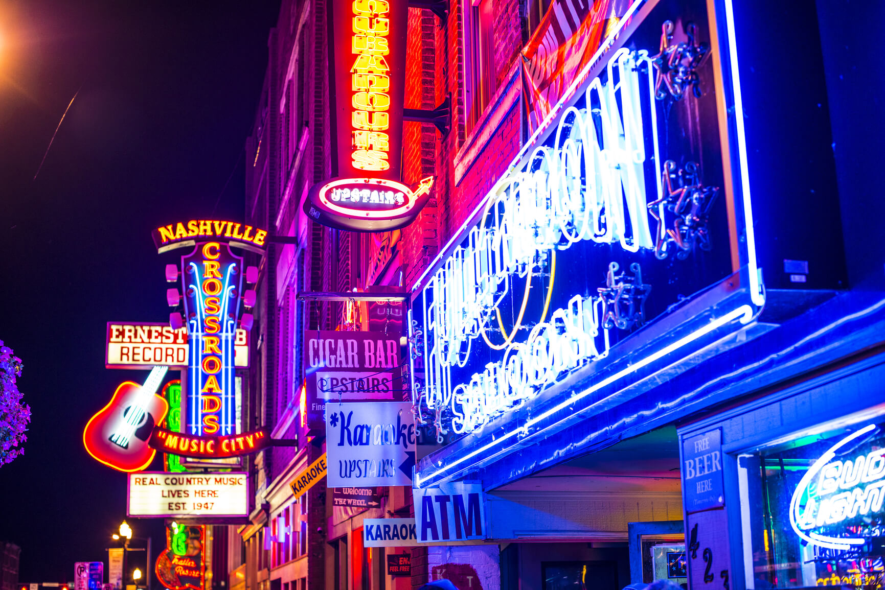 SUMMER: San Jose, California to Nashville (& vice versa) for only $147 roundtrip (Nov-Aug dates)
