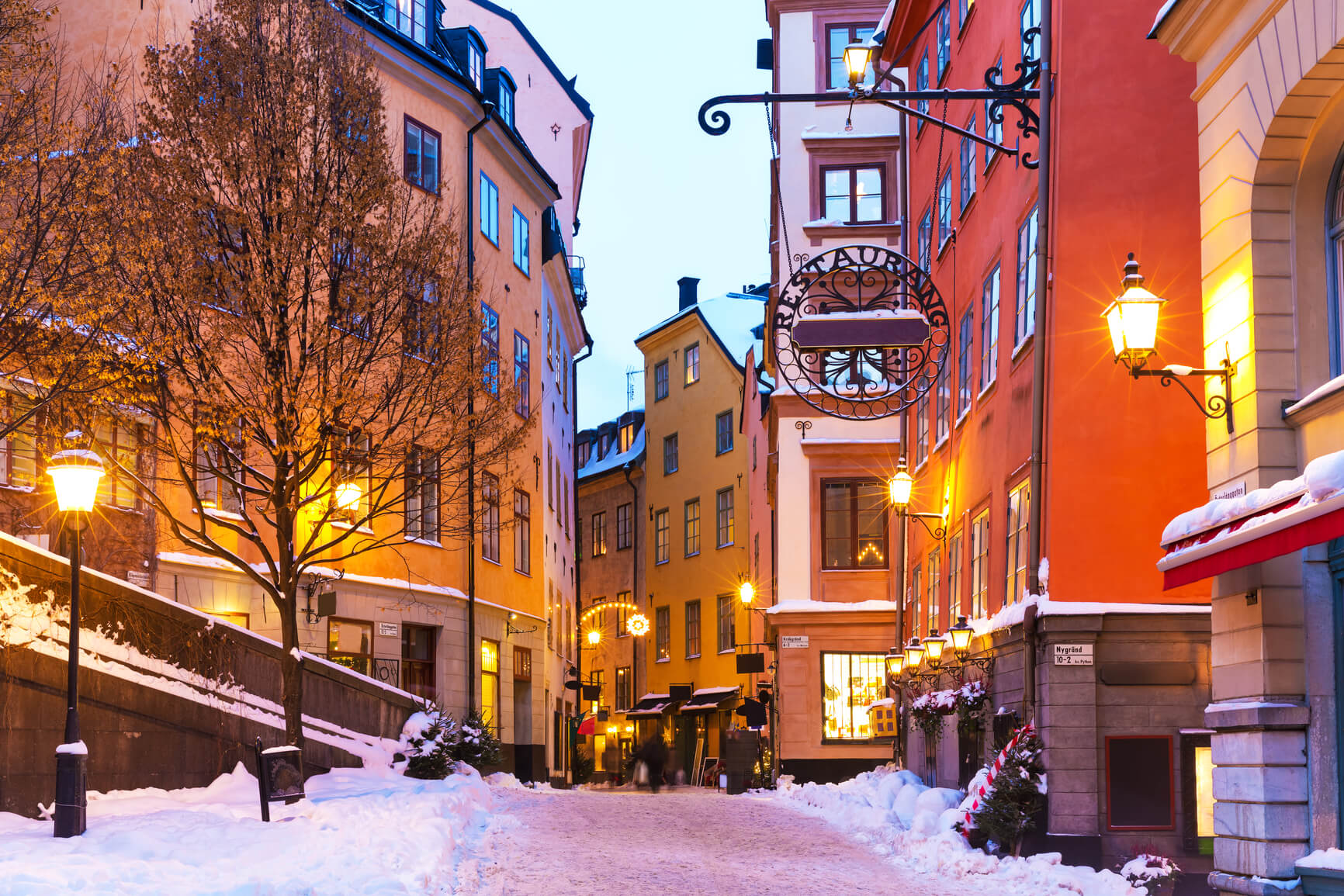 New York to Stockholm, Sweden for only $326 roundtrip