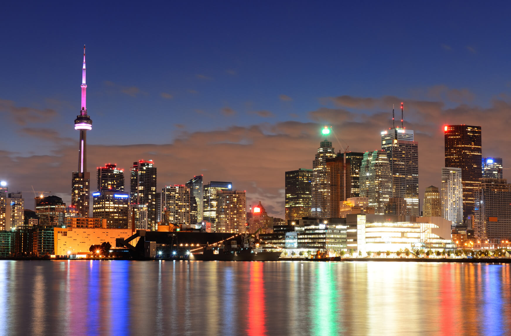 Non-stop from Miami to Toronto, Canada for only $158 roundtrip