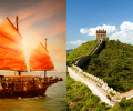 Amsterdam, Netherlands to Hong Kong for only €319 roundtrip (add a stop in Beijing, China for €3 more)
