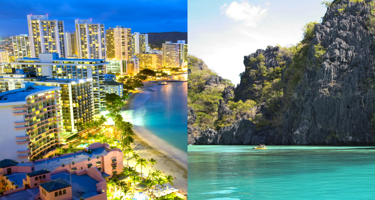 Flight deals from Hong Kong to bothHawaii and the Philippines   Secret Flying