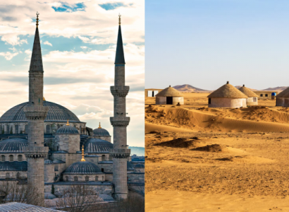 2 IN 1 TRIP: London, UK to both Turkey & Africa from only £291 roundtrip