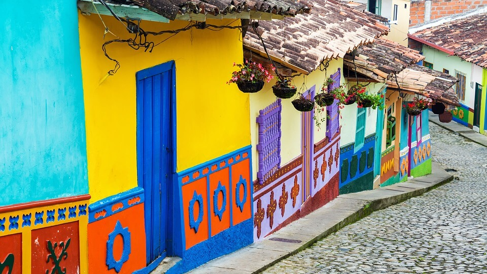 German cities to Bogota, Colombia from only €375 roundtrip
