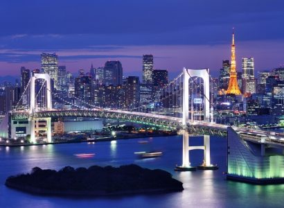London, UK to Tokyo, Japan for only £394 roundtrip