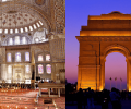 2 IN 1 TRIP: London, UK to Turkey & India from only £259 roundtrip