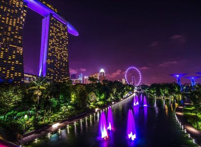 Non-stop from Berlin, Germany to Singapore for only€296 roundtrip