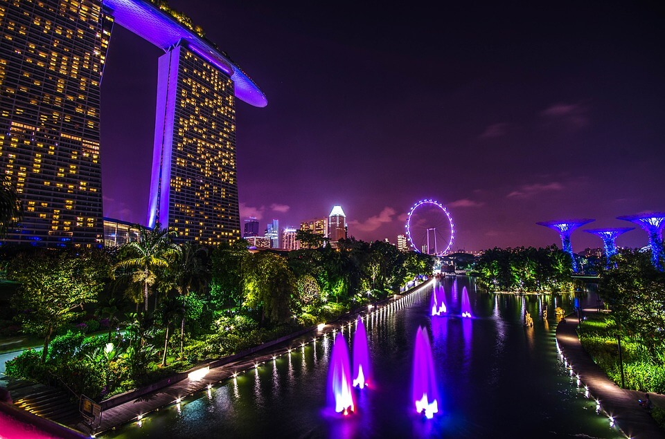 Non-stop from Berlin, Germany to Singapore for only €290 roundtrip