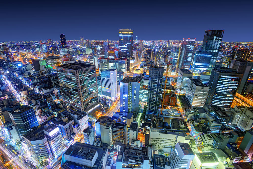 Boston to Osaka, Japan for only $517 roundtrip (Sep-Dec dates)
