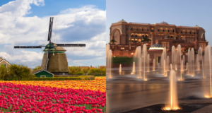 2 IN 1 TRIP: Hong Kong to Amsterdam, Netherlands & Abu Dhabi, UAE for only $472 USD roundtrip