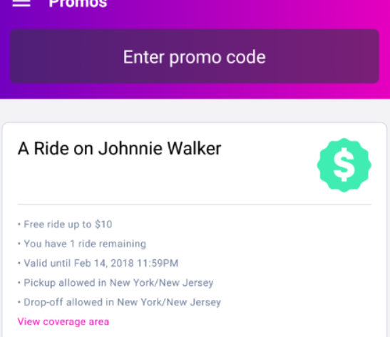 Lyft discount coupons