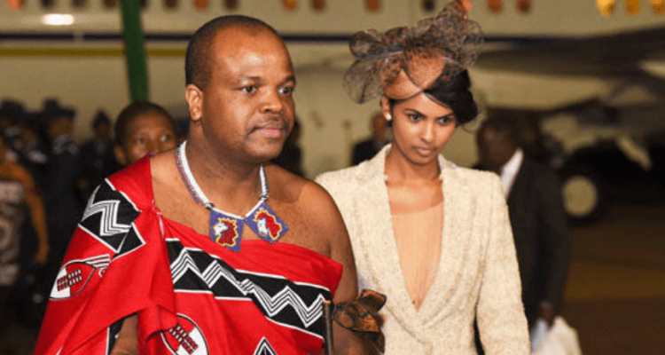 Image result for king of swaziland