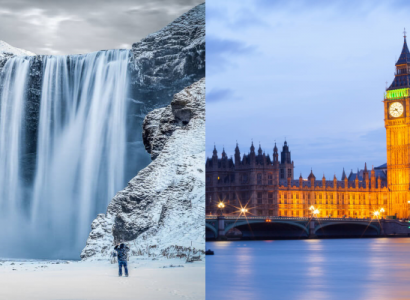 HOT!! 2 IN 1 TRIP: Vancouver, Canada to London, UK & Reykjavik, Iceland for only $376 CAD roundtrip