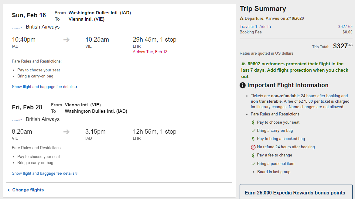 Washington DC To Vienna Austria For Only 327 Roundtrip