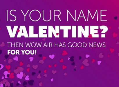<div class='expired'>EXPIRED</div>PROMO: Free flights if you are called Valentine or Valentina   Secret Flying