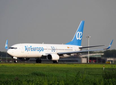 BLACK FRIDAY: Up to 40% off Air Europa flights