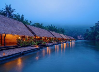 3* River Kwai Jungle Rafts in Sai Yok, Thailand for only $47 USD per night   Secret Flying