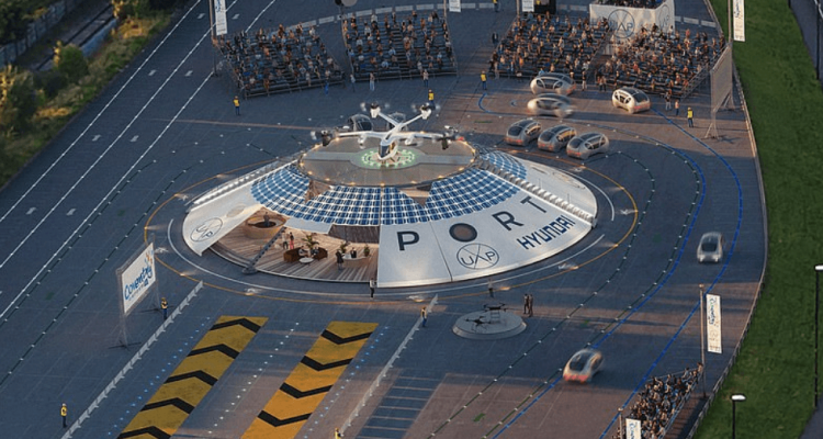 flying taxi airport